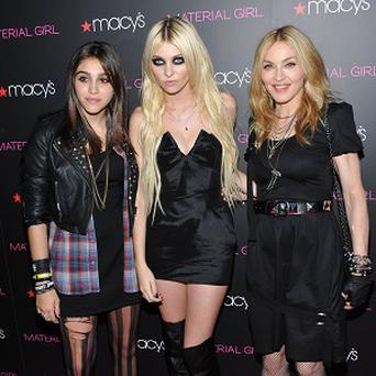 Lourdes, Taylor Momsen and Madonna launched the line in New York