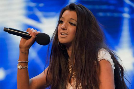 Chloe during the Manchester audition. Photo: Ken McKay / ITV / PA Wire