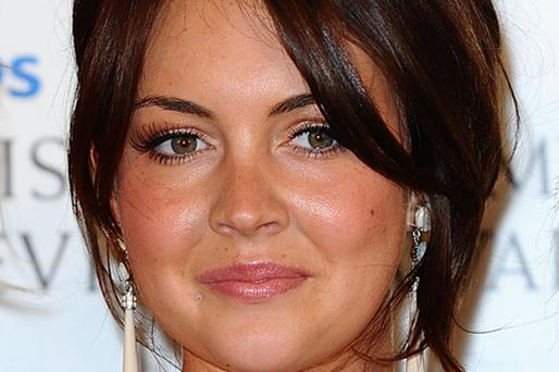Lacey Turner won her fifth consecutive Inside Soap award. Photo: PA