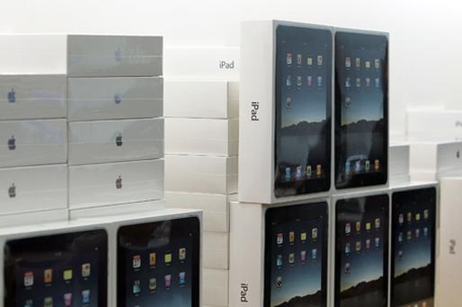 Three million iPads were snapped up in the 80 days after its April launch. Photo: Getty Images