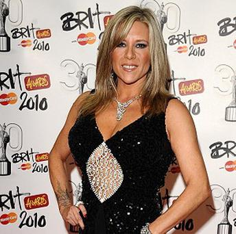 Samantha Fox was bitten by a stray cat while holidaying