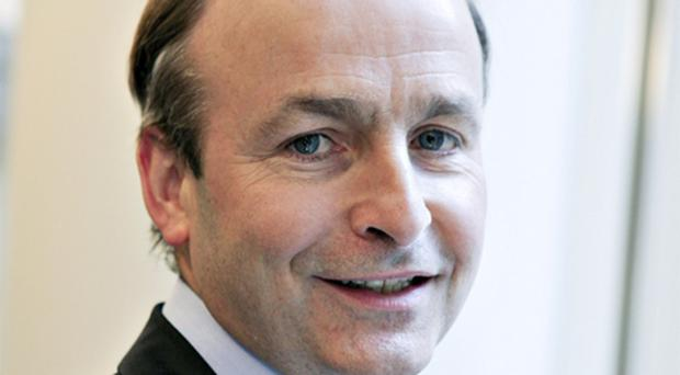 Micheal Martin: ruling out activating the European bailout package for Ireland. Photo: Bloomberg News