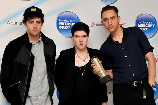 Jamie Smith, Romy Madley Croft and Oliver Sim of The XX arrive at the Barclaycard Mercury Prize Nominations Announcement. Photo: Getty Images
