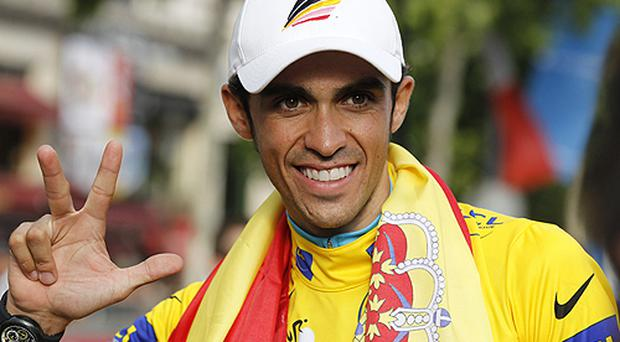 Contador has won three Tours. Photo: Getty Images