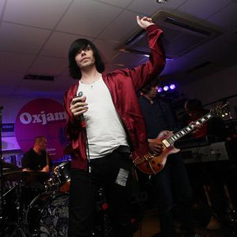 The Charlatans' frontman Tim Burgess said his bandmate was 'doing good'