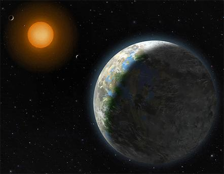 Astronomers have spotted a planet which they believe could harbour life. Photo: AP