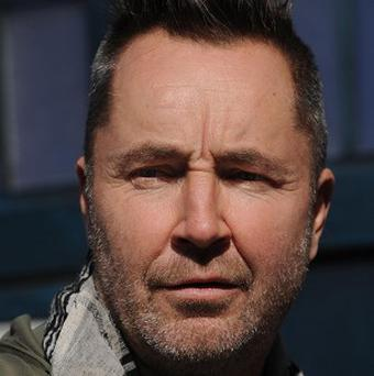 Two people were arrested for drugs offences at a party thrown by violinist Nigel Kennedy