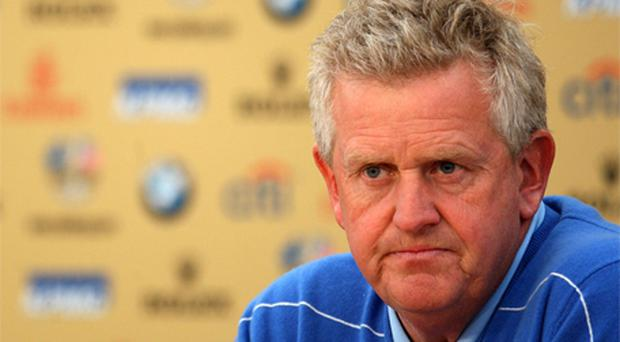 Europe' s Captain Colin Montgomerie. Photo: PA
