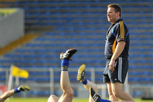 Tipperary team trainer Cian O' Neill. Photo: Sportsfile