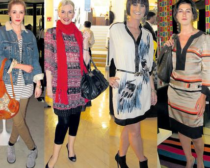 From left: Sara O'Hegarty, Anne Boylan, Vanessa Kilbride and Anne-Marie Proudford