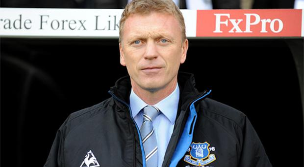 Everton manager David Moyes. Photo: PA