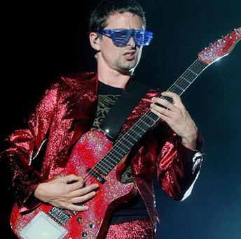Matt Bellamy's band Muse has been credited with the best guitar riff of the past decade for Plug In Baby