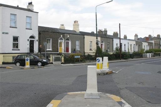 The junction of Tritonville Road, Sandymount Road, and Newbridge Avenue, Dublin where 49- year- old Raymond Bates from Durham was attacked. Photo: Collins Photo Agency