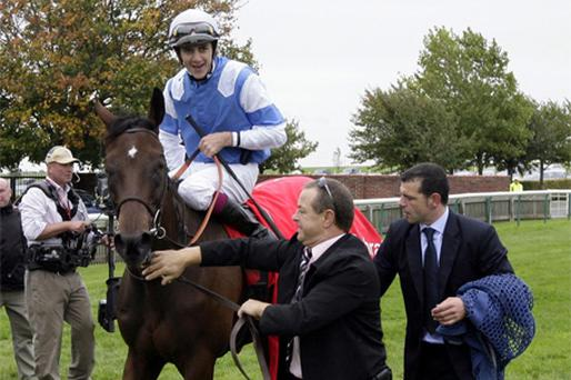 Sahpresa and Christophe Soumillon
