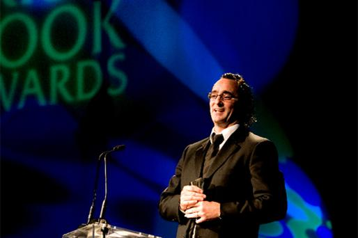 PIONEER: Benji Bennett at the Irish Book Awards 2009