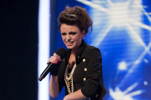 Cher Lloyd has made it to the final 12 in The X Factor. Photo: PA
