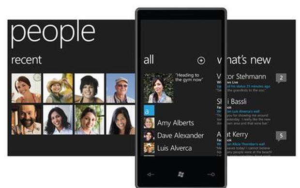 Microsoft is expected to officially unveil its range of Windows Phone 7 handsets on October 11, with devices expected in shops ten days later. Photo: Microsoft