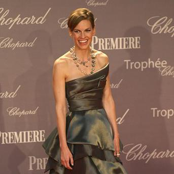 Hilary Swank will receive a tribute at the awards