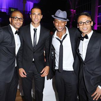 JLS won two gongs at the BT Digital Music Awards