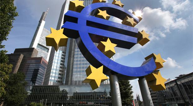 The ECB has held its key rate at 1pc for 17 months now. Photo: Bloomberg News