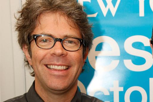 Friends again: Jonathan Franzen has made up with Oprah Winfrey