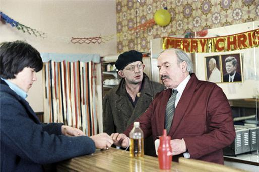 Mick Lally and Pat Layde in a scene from the 1979 RTE television drama 'Roma', to be screened at the Irish Film Institute next week
