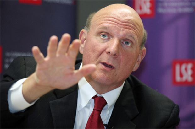 Microsoft will have Windows-powered, tablet-style computers in the shops by Christmas, said Steve Ballmer, the company's chief executive. Photo: Bloomberg News