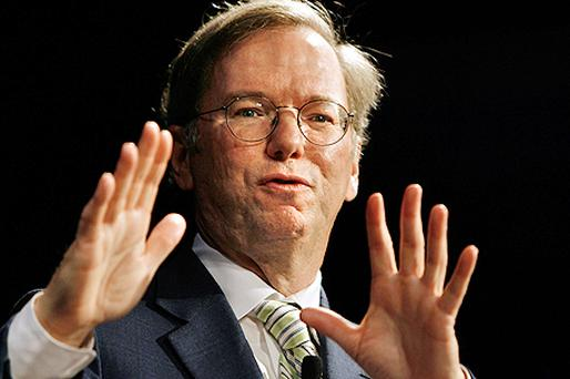 Google's Eric Schmidt. Photo: Getty Images