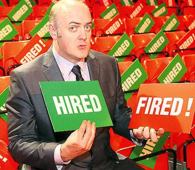 Dara ó Briain is to host 'The Apprentice: You're Fired'.