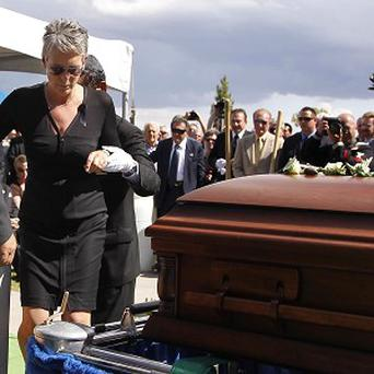 Jamie Lee Curtis attended the funeral of her father Tony Curtis