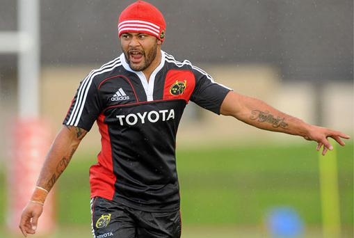 While Sam Tuitupou played for the All Blacks, he is proud of his Tongan roots and aims to bring some South Seas' power to Munster