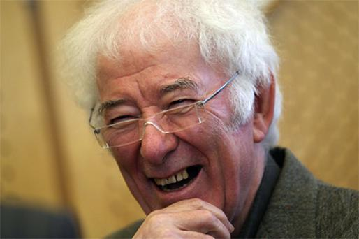 Seamus Heaney: awarded the Forward Prize for his first collection since his 2006 stroke
