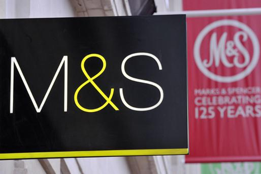 M&S said its latest advertising campaign had driven customers to its stores and helped boost its clothing market share to 10.3pc. Photo: PA