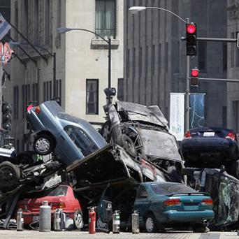 A woman was badly injured on the set of Transformers 3
