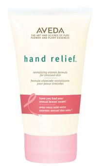 Aveda Hand Cream - €25 Bring dry hands back to health with Aveda's Hand Relieve Cream. Available from Aveda Spa's €3 from each sale goes to the CCR at St Vincent's Hospital.