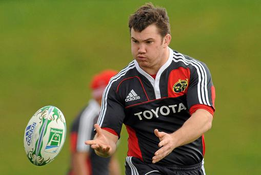 Damien Varley was one of Munster's success stories last year and will be hoping to build on that again this season.