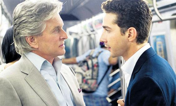 Michael Douglas returns with Shia LaBeouf for this disappointing sequel