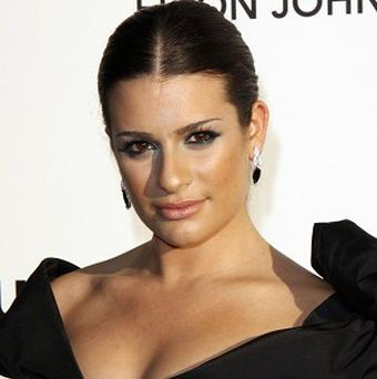 Lea Michele and the Glee cast have now had more US chart hits than the Beatles