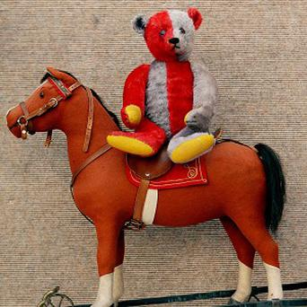 Steiff teddy bear is set to become record-breaker when it is sold at auction
