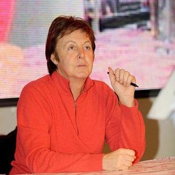 Paul McCartney visited the Linda McCartney Foods factory in Fakenham, Norfolk