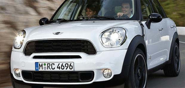 Appeal: The Countryman is a major new player on the crossover front.