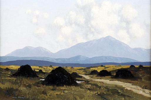 'The Bog Road', by Paul Henry, was unearthed on the BBC's 'Antiques Roadshow'