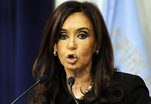 Argentina's president, Cristina Fernandez de Kirchner, attacked the British Royal Navy over Twitter. Photo: Getty Images