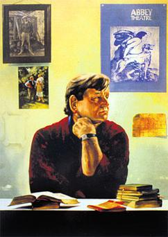 The great educator Augustine Martin edited 'Soundings'. 'It was his genius to know loving poetry is a marriage,' says Joseph O'Connor. Portrait by James Hanley RHA