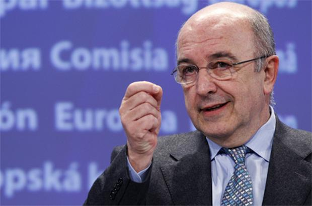 EC Competition boss Joaquin Almunia said the amount of aid received by EBS 'justifies that we give interested third parties the opportunity to comment on whether the distortions of competition are adequately addressed'. Photo: Reuters