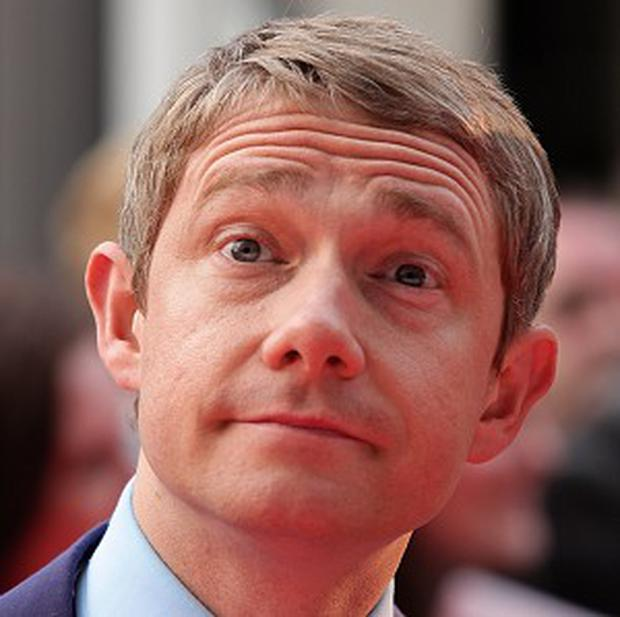 Martin Freeman was sad that his busy schedule meant he had to turn down the role of Bilbo Baggins