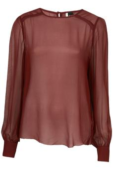 Sheer top from Topshop €60
