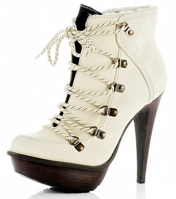 Heeled hikers from River Island £89.99