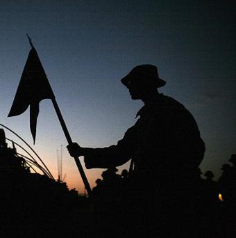 A US judge moved to end the military's 17-year-old ban on openly gay troops (AP)