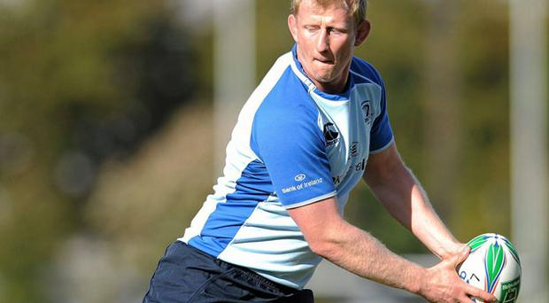 Leo Cullen is set for his first action since a shoulder injury sustained last May.